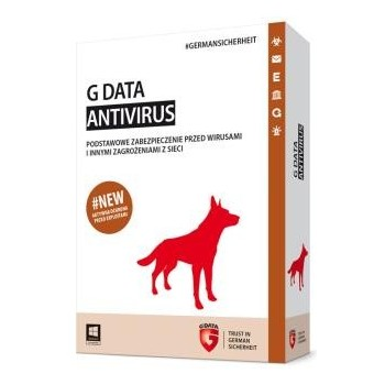 G DATA AntiVirus 1PC 2LATA BOX