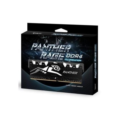 Pamięć DDR4 Apacer Panther Rage Illumination LED 8GB (1x8GB) 3000MHz CL16 1,2V